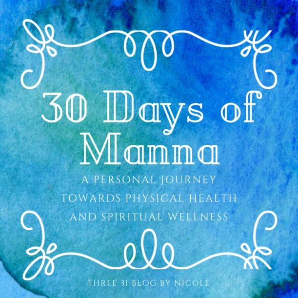 30 Days of Manna