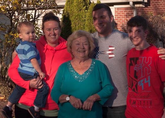 Nana + Grandchildren-1