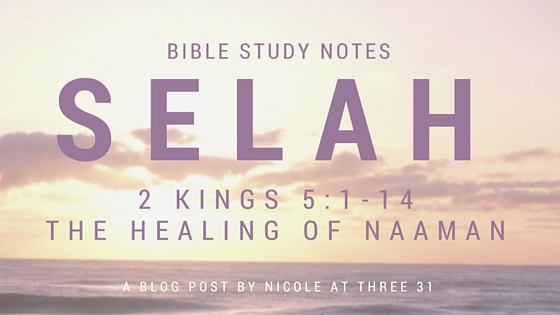 SELAH - The Healing of Naaman